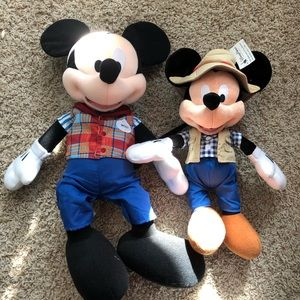 Cast Member Mickey Mouse plush